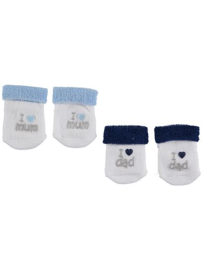 BABY UNDERWORKS 2PK TERRY SOCKS