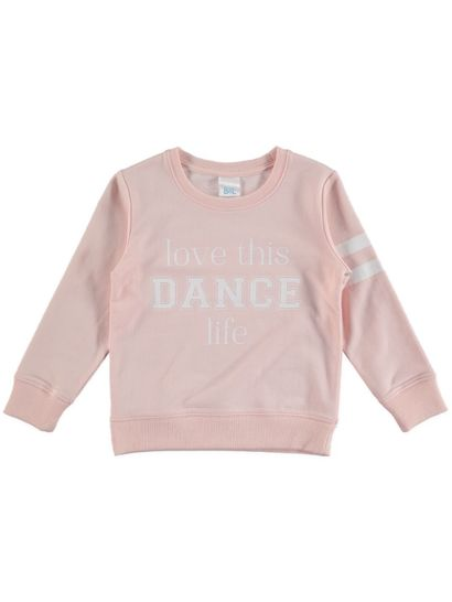 Toddler Girls Print Sweat