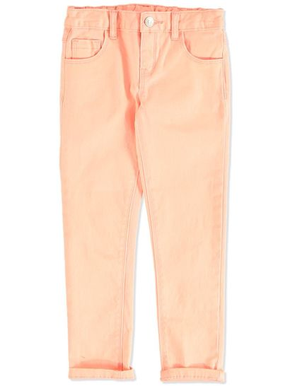 TODDLER GIRL NEON DENIM JEAN
