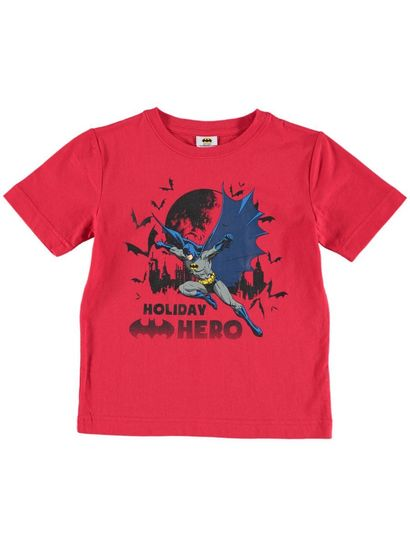 Boys Xmas Batman T-Shirt