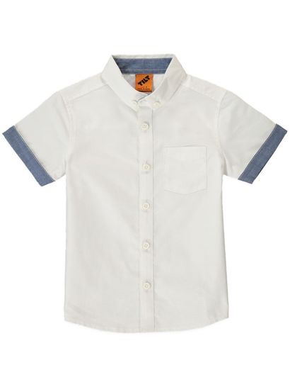 Boys Ss Oxford Shirt