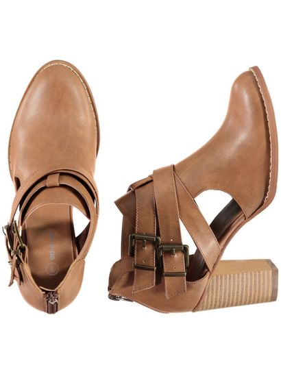 Womens Buckle Boot