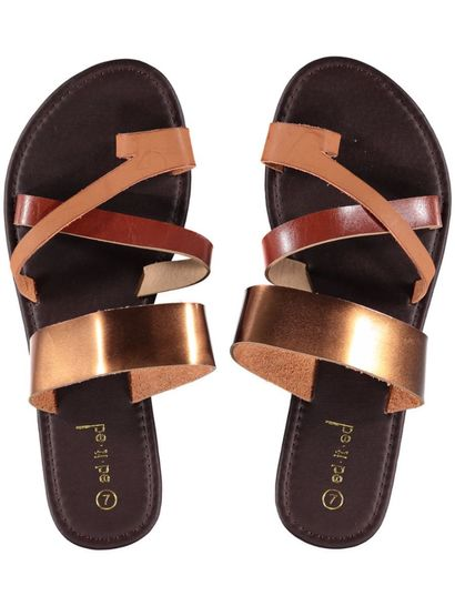 Ladies Multi Strap Sandal