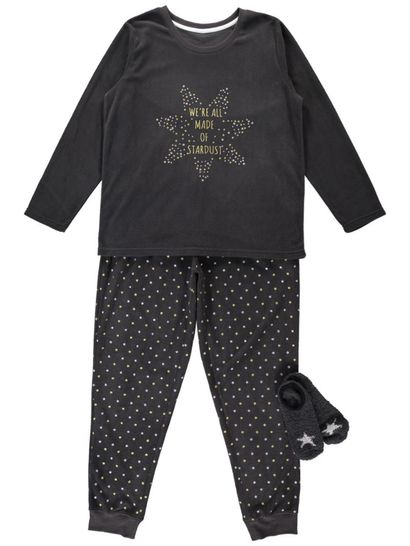 Pj Set With Gift Womens Sleepwear