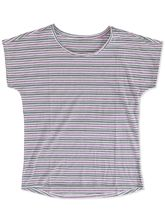 PLUS STRIPE TSHIRT WOMENS