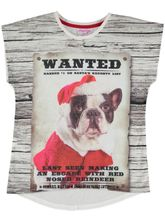 Girls Christmas T Shirt