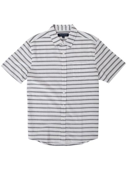 Mens Short Sleeve Stripe Shirt