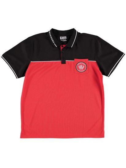 Mens A League Mesh Polo