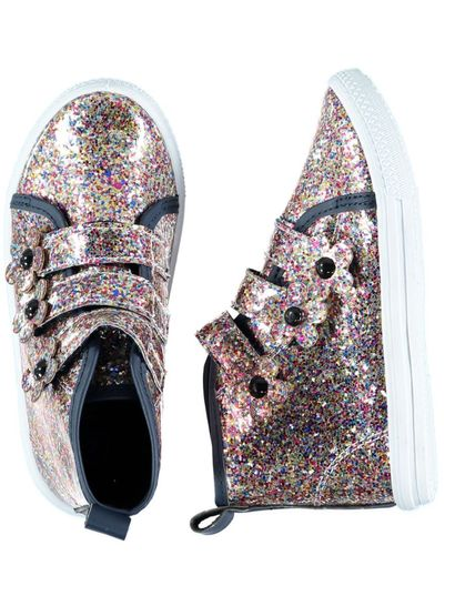 Toddler Girl Glitter Hi-Top