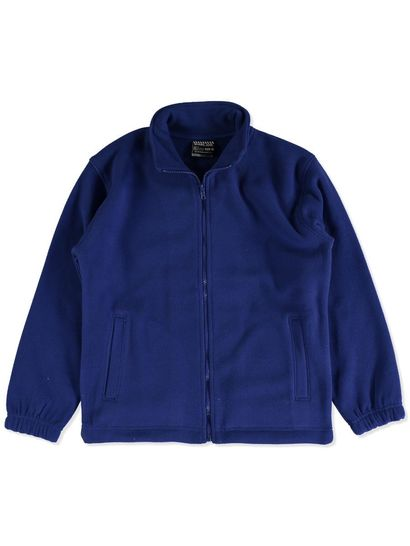 ROYAL BLUE KIDS POLAR FLEECE JACKET