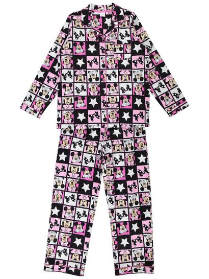 Minnie Mouse Flannel Pj Womens Sleep