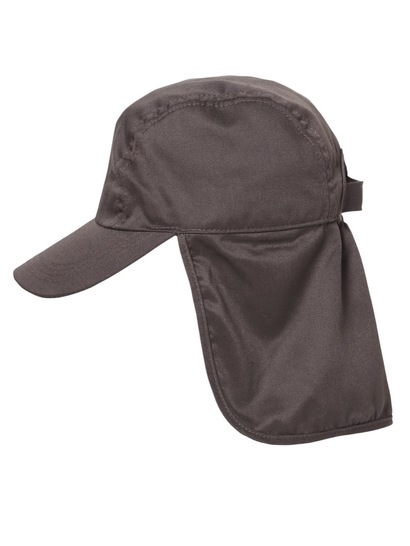BROWN KIDS LEGIONNAIRE CAP