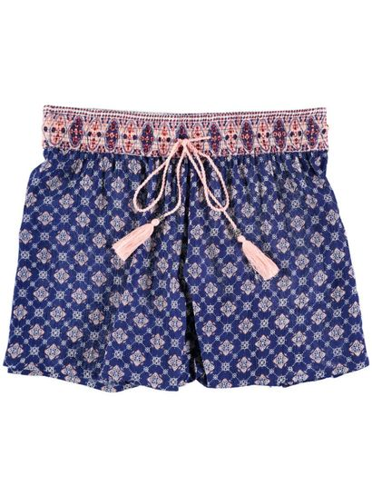 Womens Crinkle Short