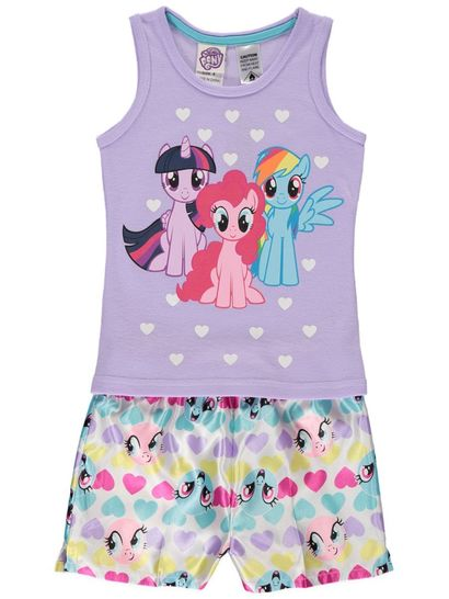 Girls Licence Pyjama Set - My Little Pony