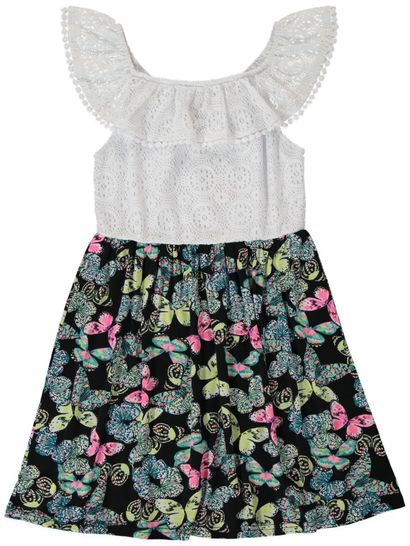 Girls Print Dress