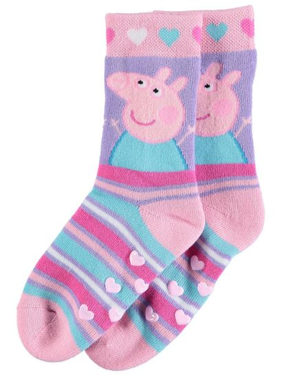 Girls Licence Bed Socks - Peppa Pig