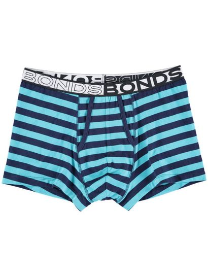 Mens Bonds Stripe Fly Trunk