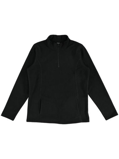 Qtr Zip Polar Fleece Jacket Womens