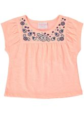 TODDLER GIRLS EMBROIDED FASHION TOP