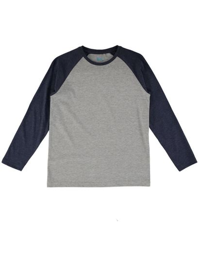 Boys Plain Ls Tee