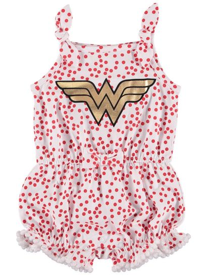 Baby Wonder Woman Playsuit