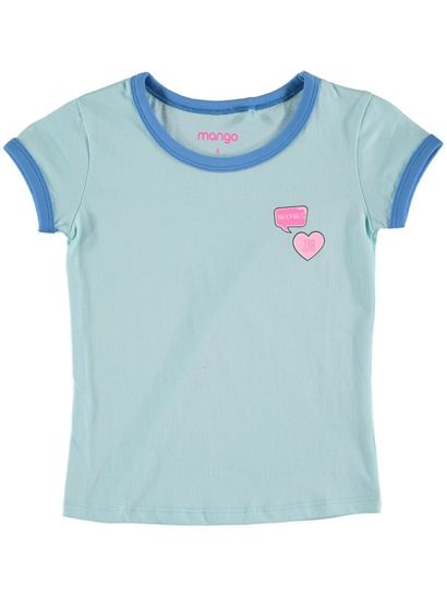 Toddler Girls Ringer Tee