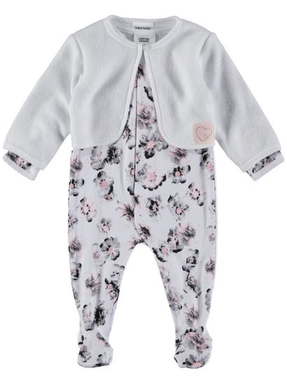 Baby Romper And Jacket Set