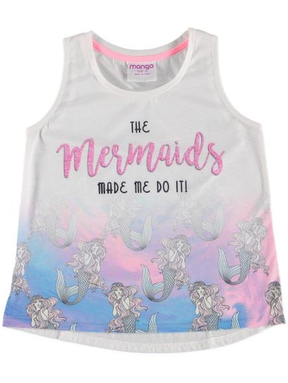 Girls Sublimated Print Tank