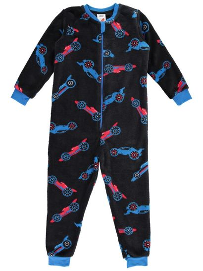 Boys Onesie Coral Fleece
