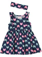 TODDLER GIRLS SPOT PRINT DRESS