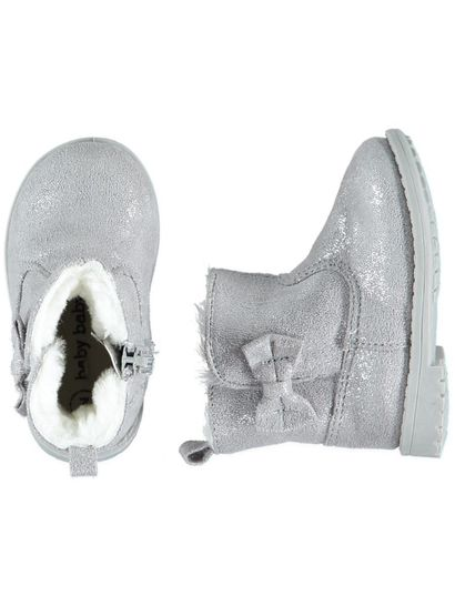 Baby Girl Silver Boot