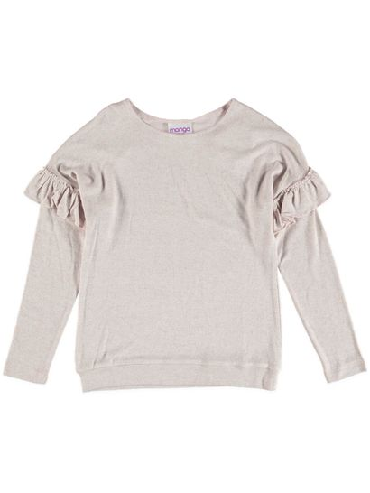 Girl Long Sleeve Knit Top
