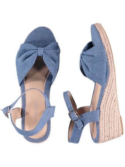 Girls Flower Wedge