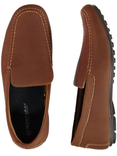 Men Brown Loafer