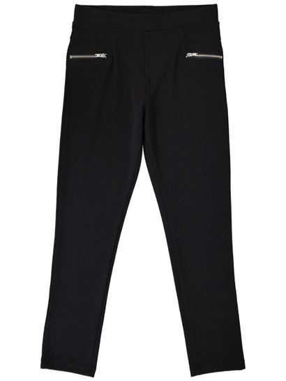 Girls Zip Ponte Pant