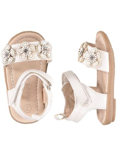 Baby Girl White Sandal