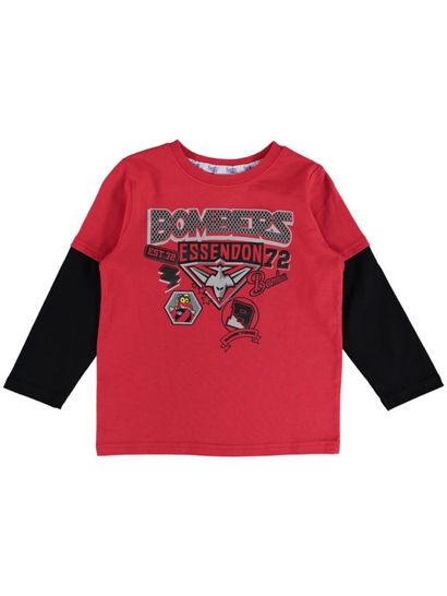 Afl Toddler Long Sleeve Tee