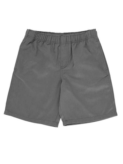 GREY BOYS PLAIN SHORTS