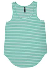 PLUS STRIPE TANK WOMENS