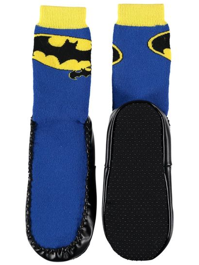 Girls Licence Moccasin Socks - Batgirl