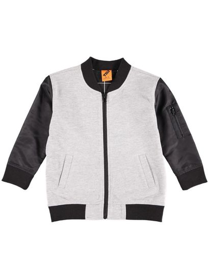Boys Contrast Sleeve Jacket
