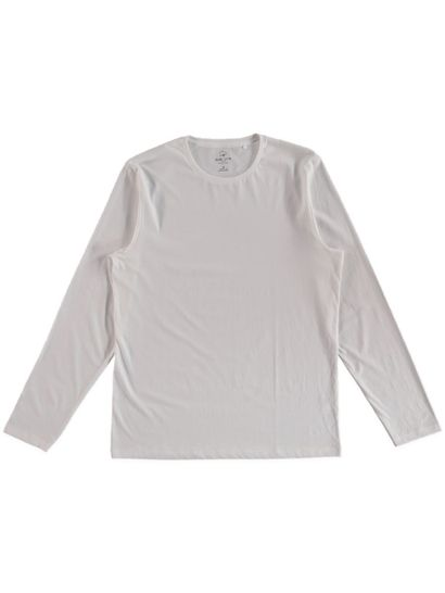 MENS ORGANIC COTTON LONG SLEEVE TEE