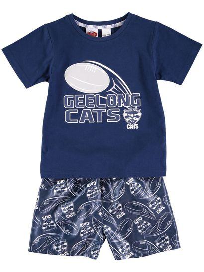 Toddler Afl Knit Satin Pj