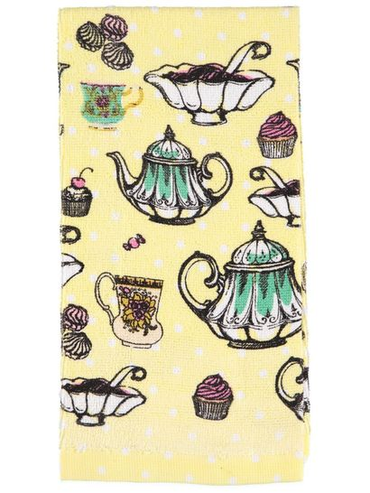 Printed Terry Tea Towel