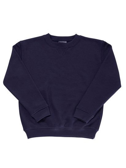 NAVY BLUE KIDS FLEECE SLOPPY JOE