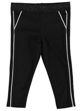 Toddler Girls Black Pant