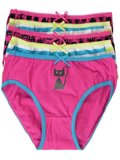 GIRLS BRIEF 5PK