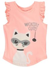 TODDLER GIRLS HALLOWEEN PRINT TANK