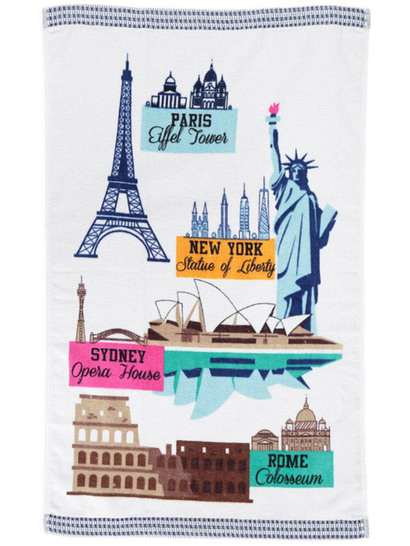 Velour Tea Towel