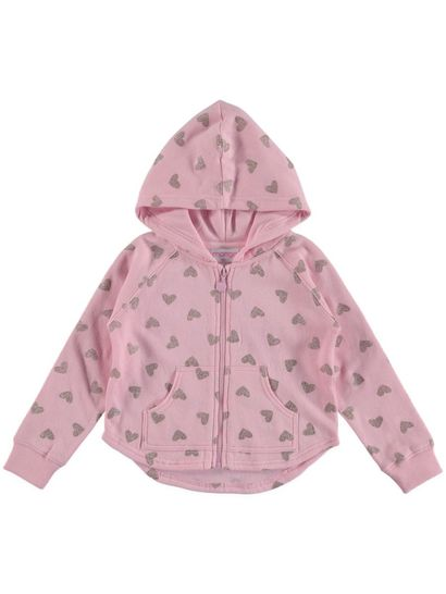 Toddler Girls Printed Hoodie